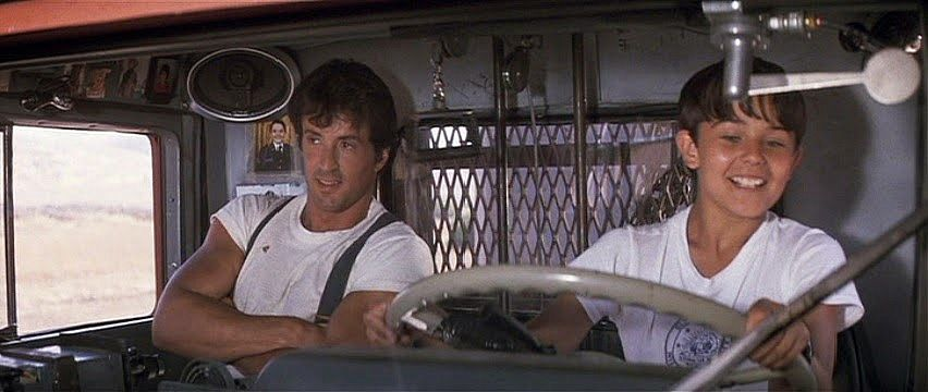 """Sylvester Stallone in """"Over the Top"""" (1987)"""