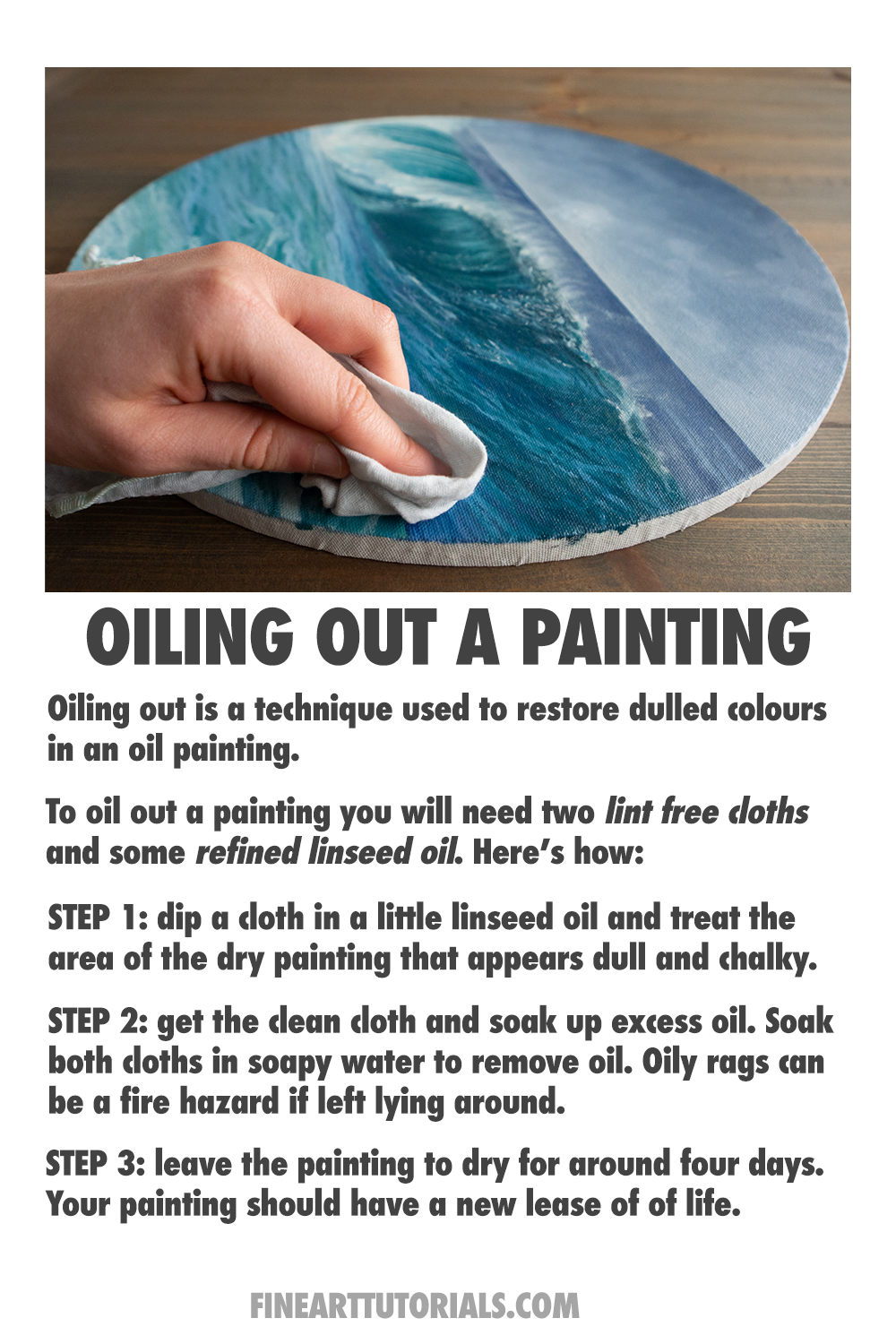 Oiling Out : oiling, Oiling, Painting, Learn, Painting,, Tips,, Cleaning, Paintings
