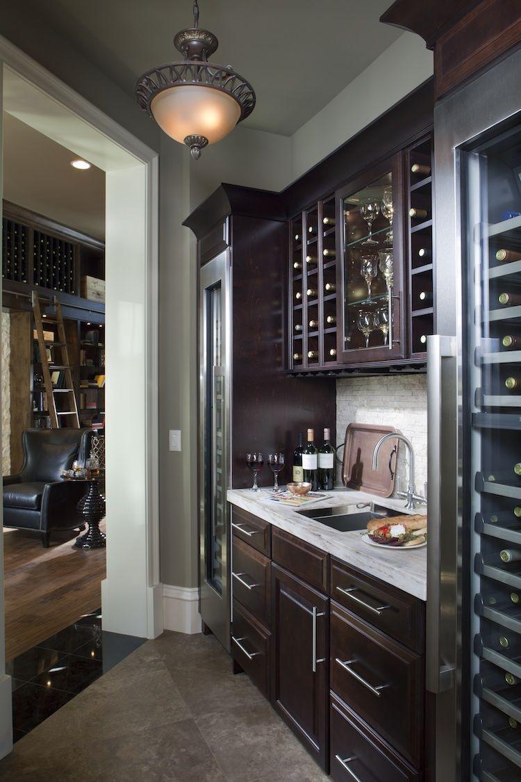 The New American Home 2011 Wine Storage   Timberlake ...