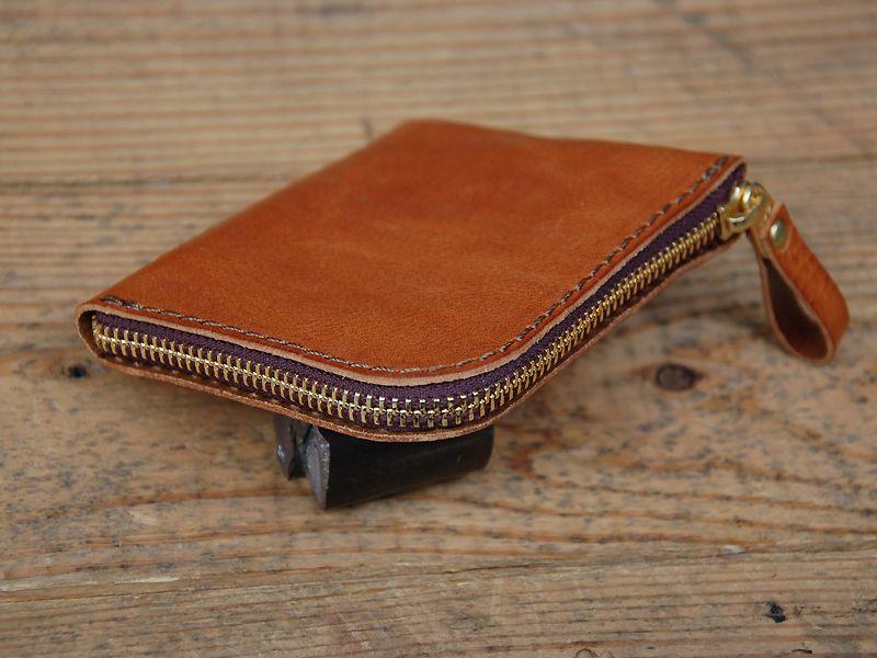 b0ae8d29bfc4 コンパクトなダブルラウンドファスナー財布「革鞄のHERZ公式通販 ...