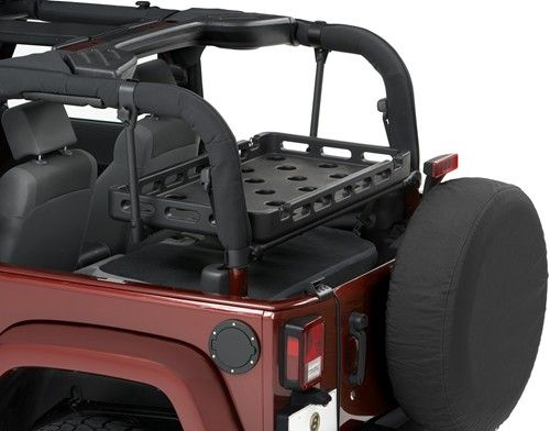 Bestop Highrock 4x4 Lower Cargo Rack Bracket With Universal Rack