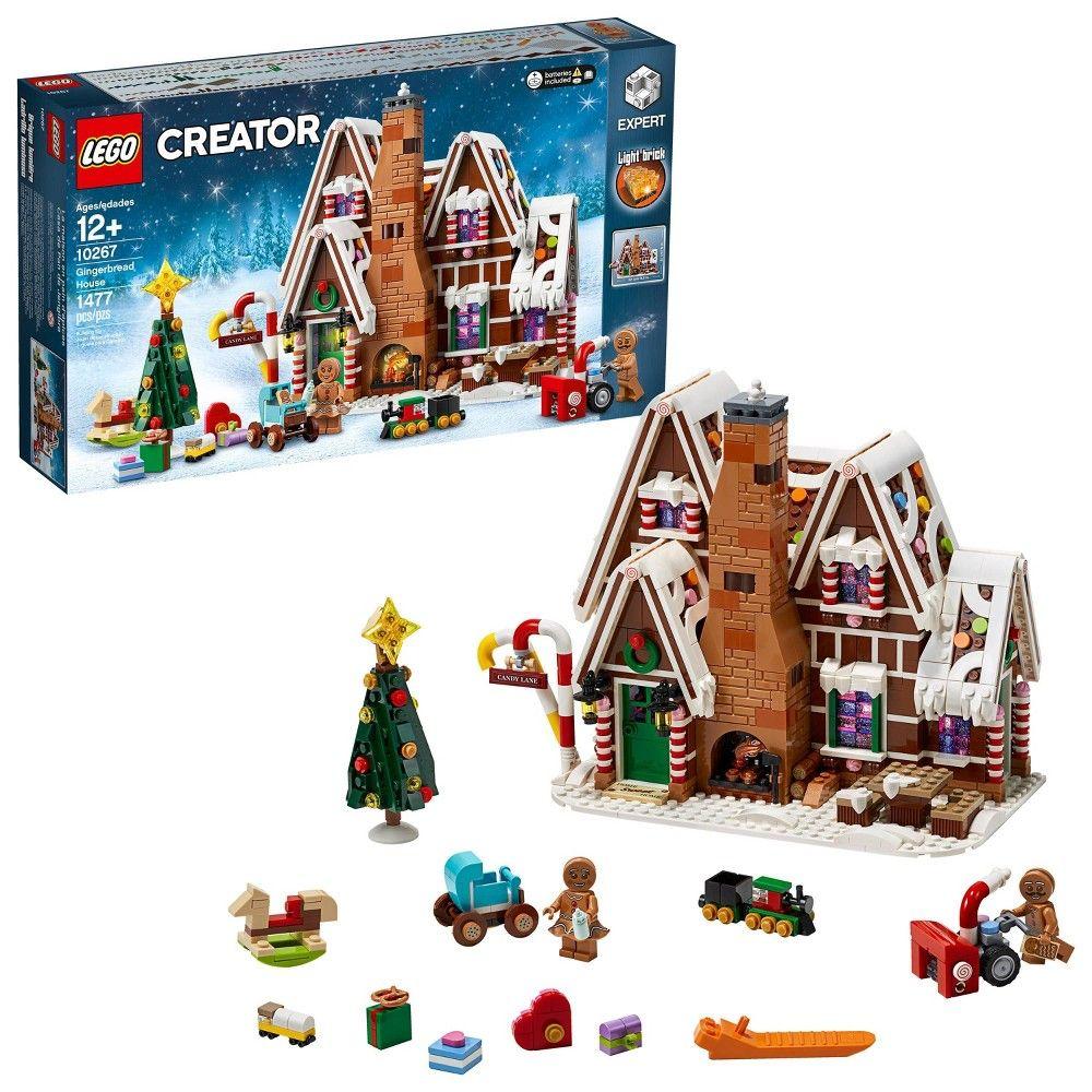 Lego Creator Expert Gingerbread House Building Kit 10267 In 2020 Lego Creator Lego Gingerbread House Lego Christmas Village