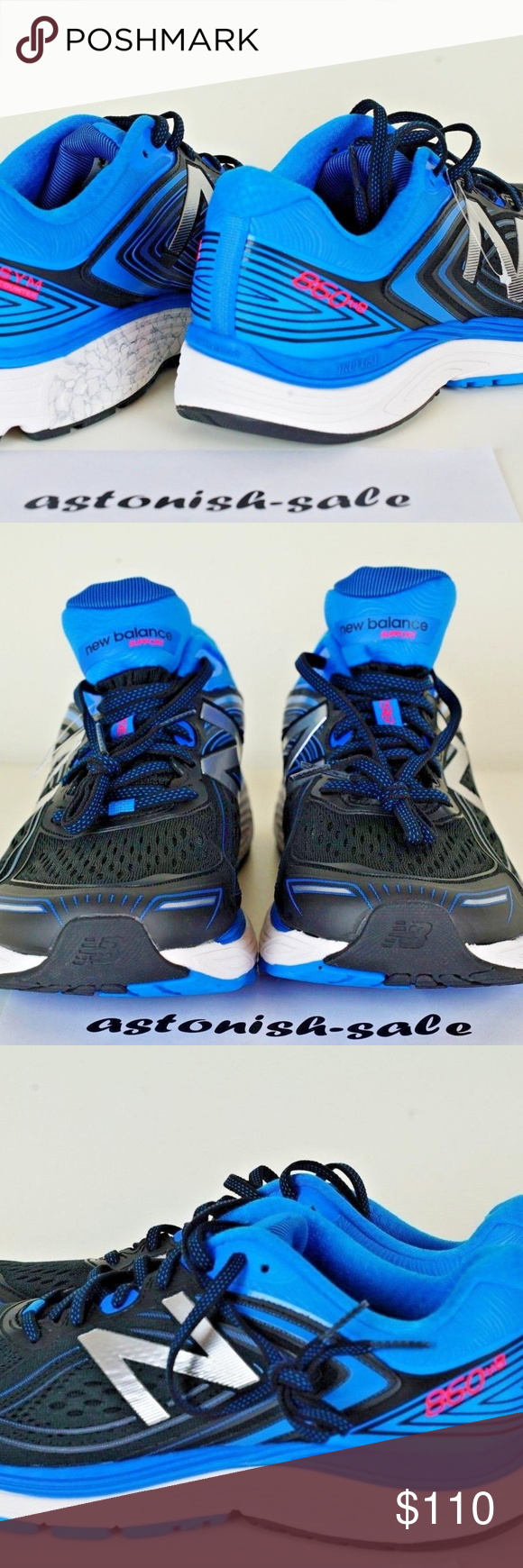 New Balance 860 v8 Running Sneakers 2E Men Sz 9.5 Brand New
