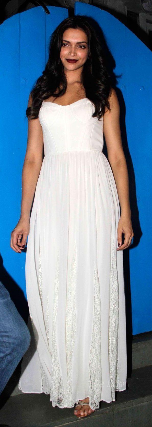 Deepika Padukone | Gowns of elegance, White maxi dresses ...