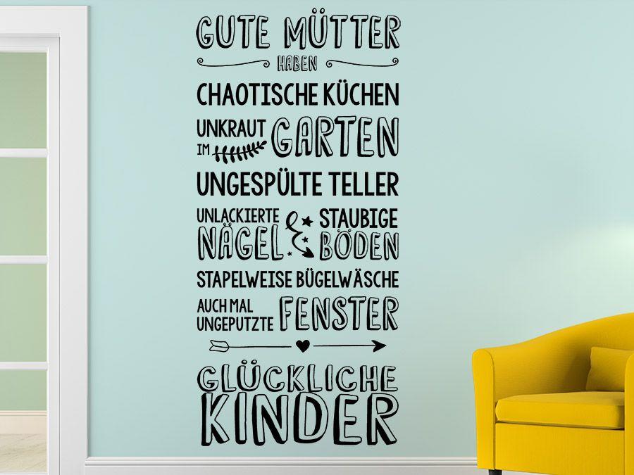 Wandtattoos für coole Familien - Familiensprüche und Motive ...