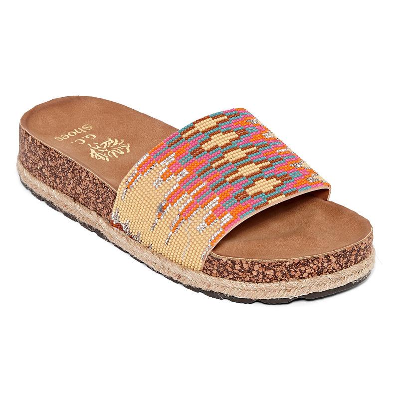 4e7c069d9c1 GC Shoes Monty Womens Slide Sandals - JCPenney
