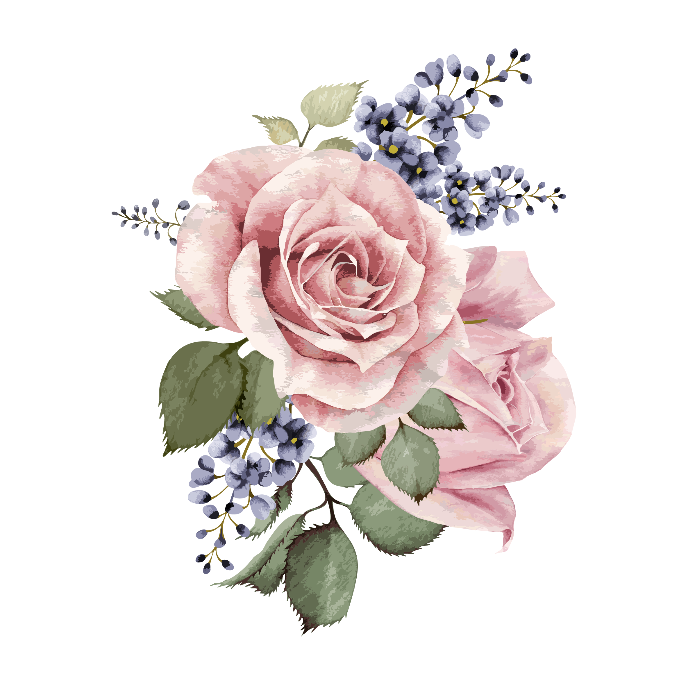 Image result for painted watercolor flowers png Flower
