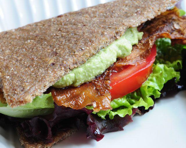 """Raw """"BLT's""""- bread recipe too!"""