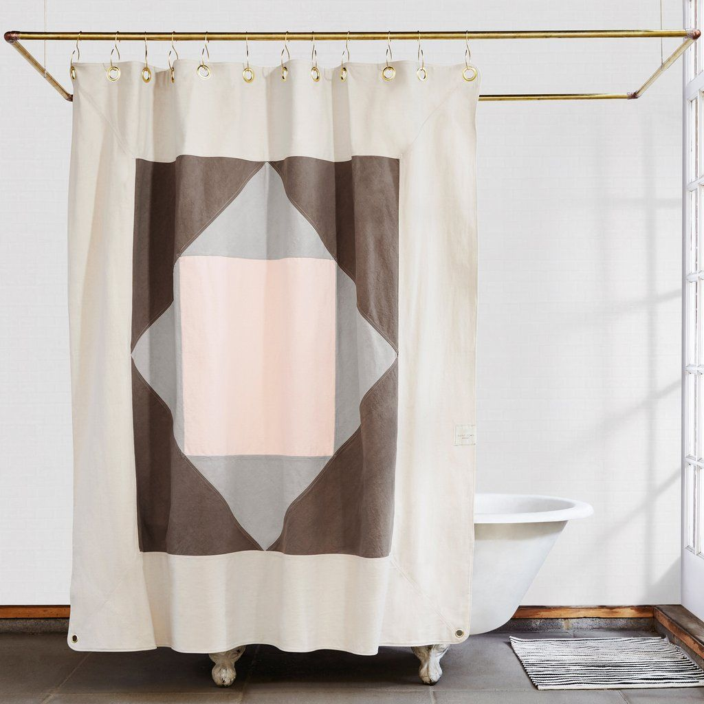 Narlai Coyote Shower Curtain Made In Usa Quiet Town Pretty
