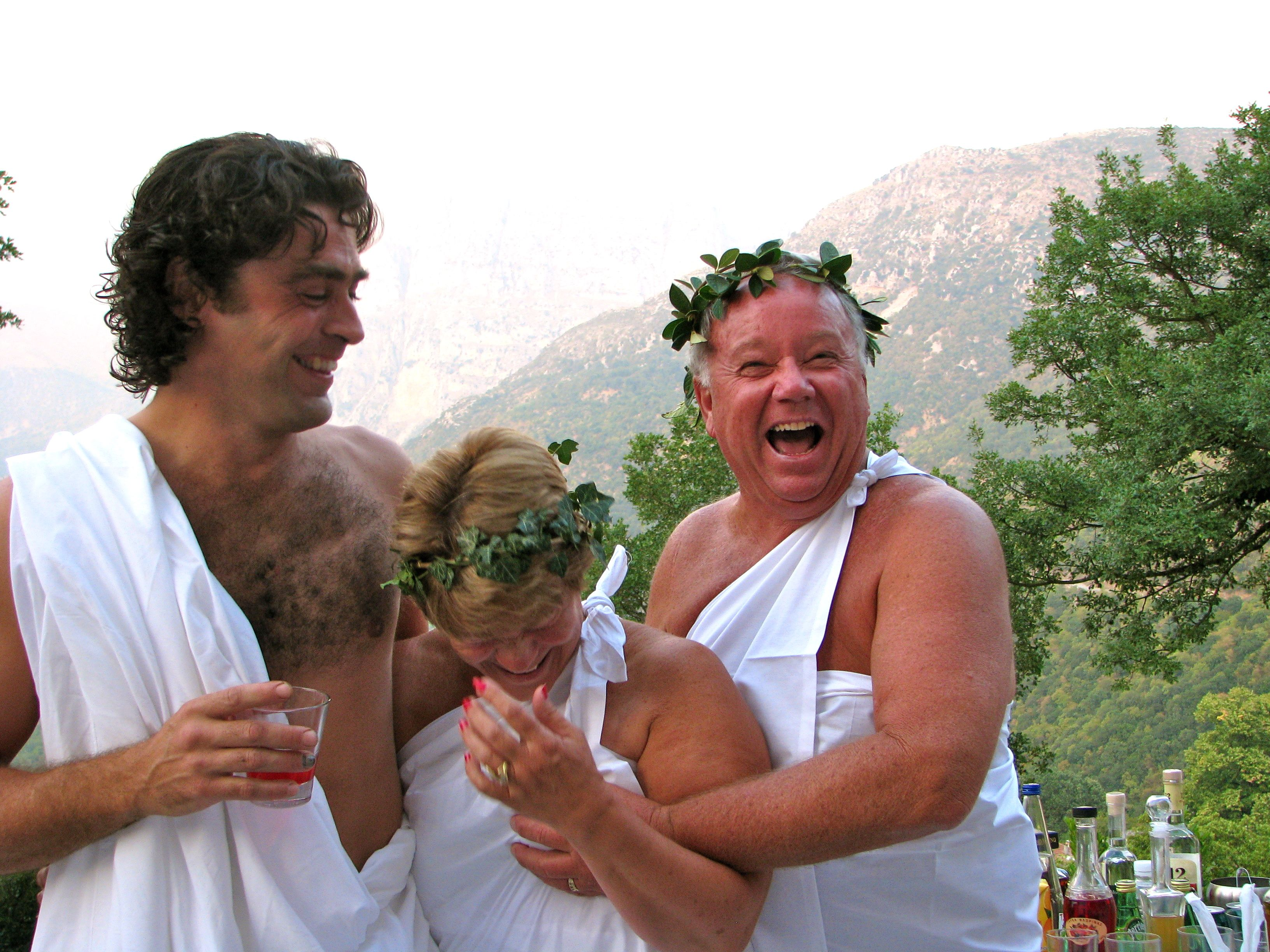 Too much wine at the Toga Party | Now that's funny.... | Pinterest ...
