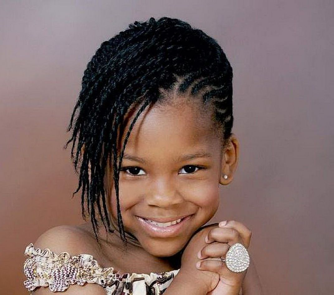 Hairstyles For Little Kids 5 Cute Black Braided Hairstyles For Little Girls Designideaz 5