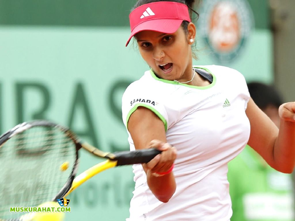 Sania Mirza Proved That Tennis In India Is Not Merely Dominated By The Male Counterparts Http En Docsity Co Tennis Players Sports Wallpapers Mirza Tennis