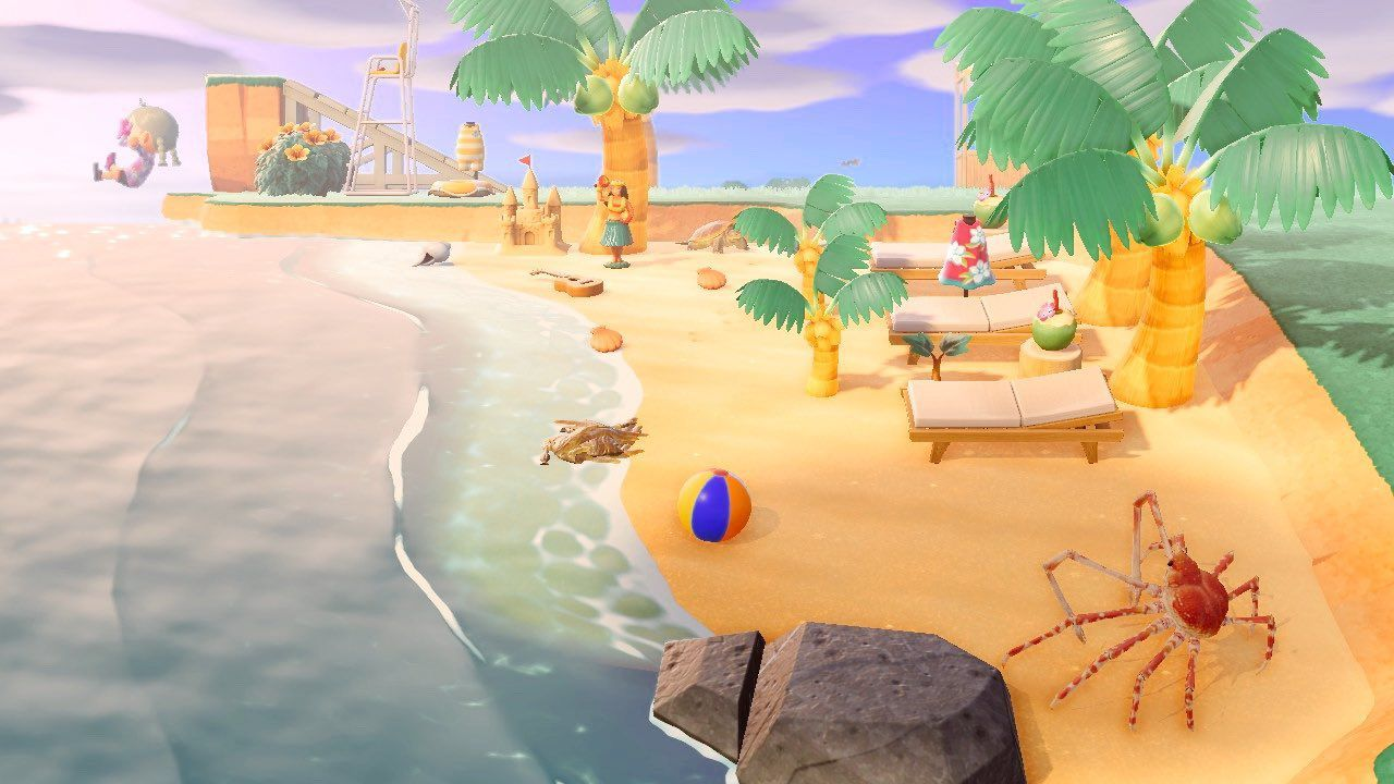 Animal Crossing Fans Are Building Diving Spots For The Summer Update Polygon In 2020 Animal Crossing Animal Crossing Game Animal Crossing Characters