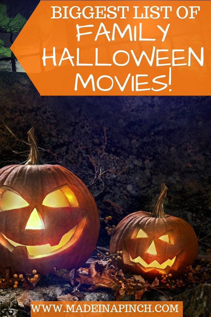Watch Over 100 of the Best Family Halloween Movies