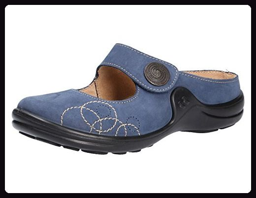 Dian Eva, Damen Clogs & Pantoletten Blau blau 44