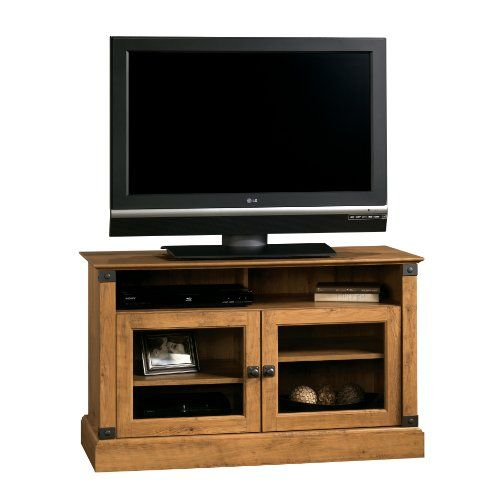 Sauder Registry Row Panel TV Stand, Amber Pine  http://www.furnituressale.com/sauder-registry-row-panel-tv-stand-amber-pine/