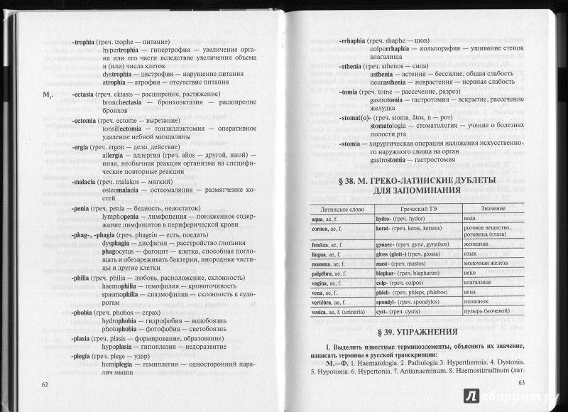 юи городкова латинский язык решебник