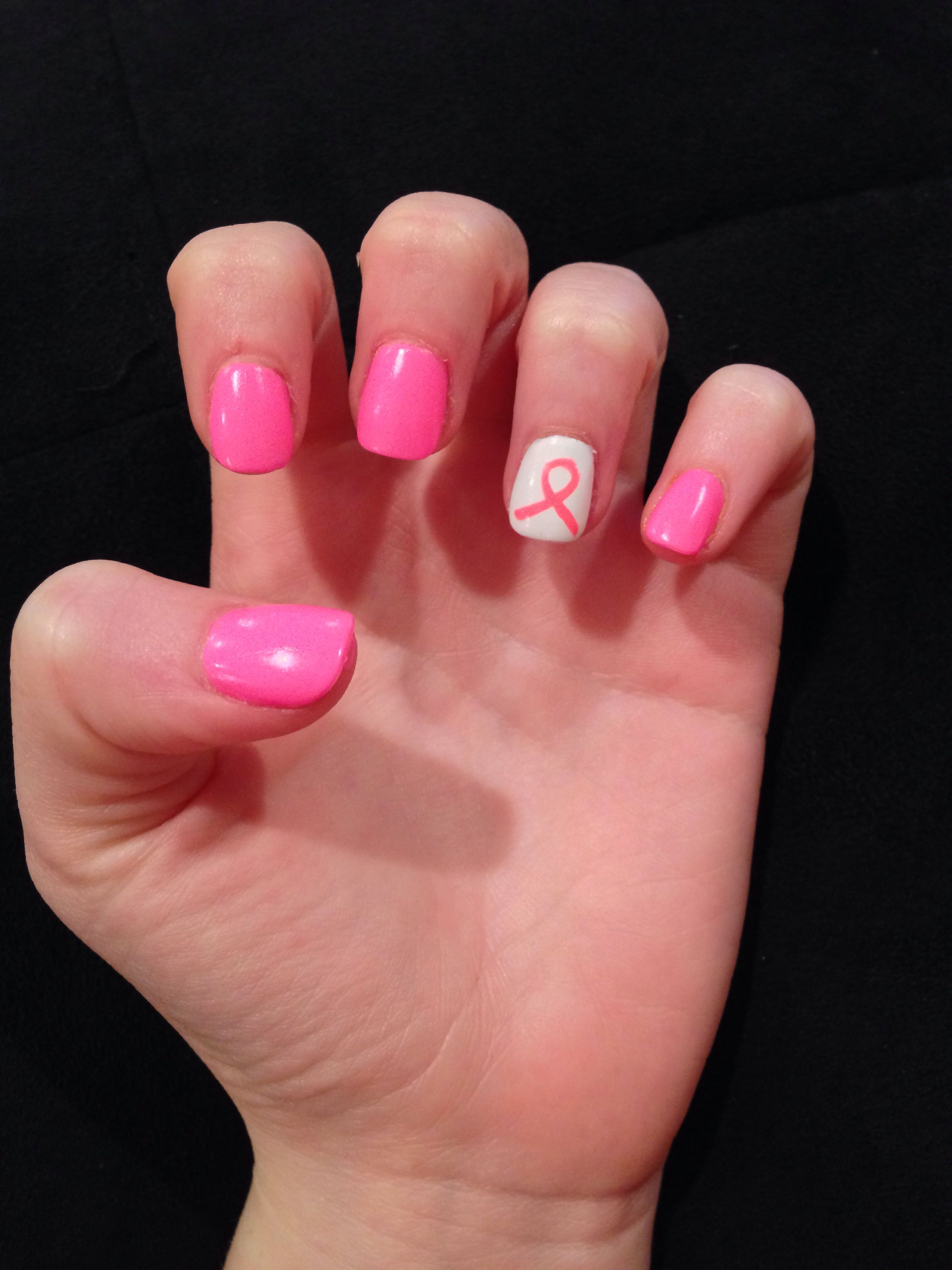 Nail Art Pink Ribbon The Best Inspiration For Design And Color Of