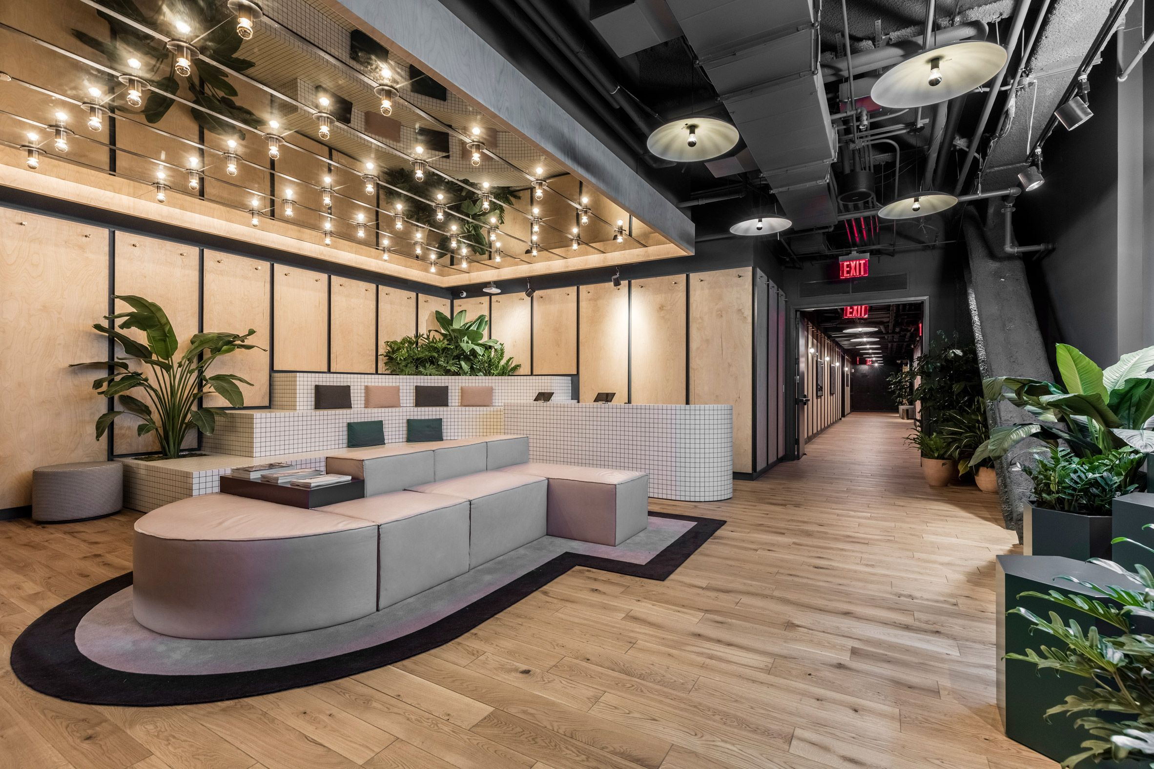 Rise by We by WeWork Gym interior, Commercial gym design