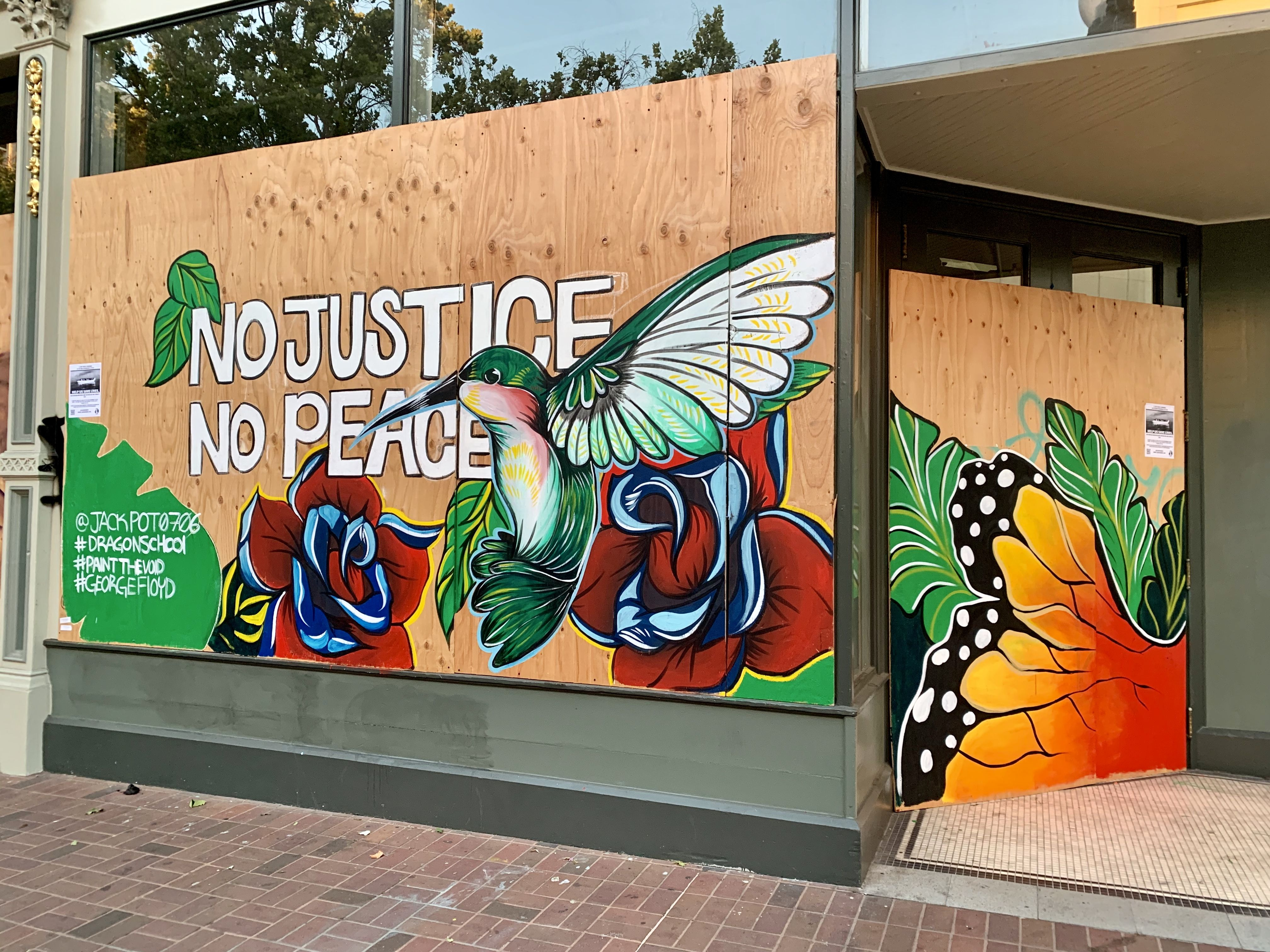 No Justice No Peace Blm Peace Art Peace Black Lives Matter Shirt