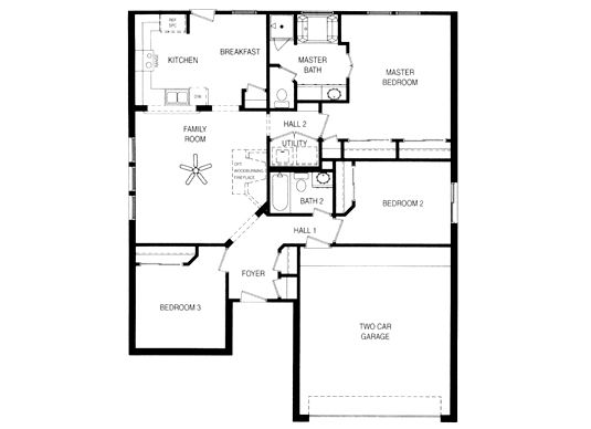 Simple House Floor Plans One Story Home Decor