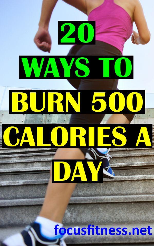 20 ways to burn 500 calories a day | Burn 500 calories ...
