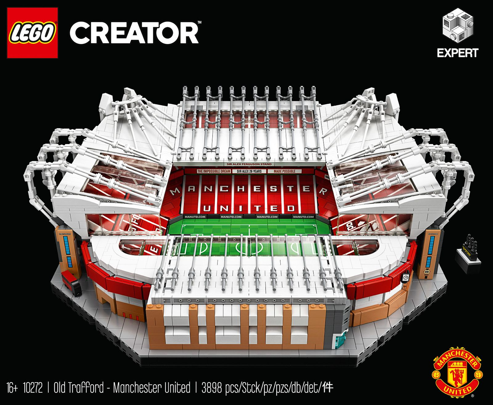 Lego 10272 Old Trafford Manchester United L Annonce Officielle Hellobricks In 2020 Lego Sets Big Lego Sets Old Trafford
