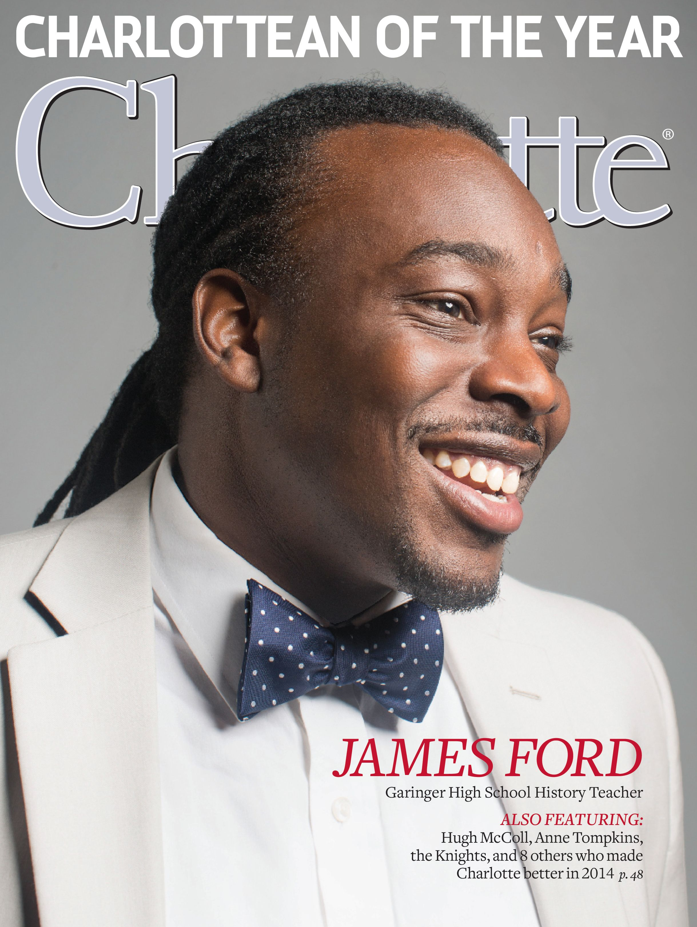 December 2014 issue of Charlotte magazine