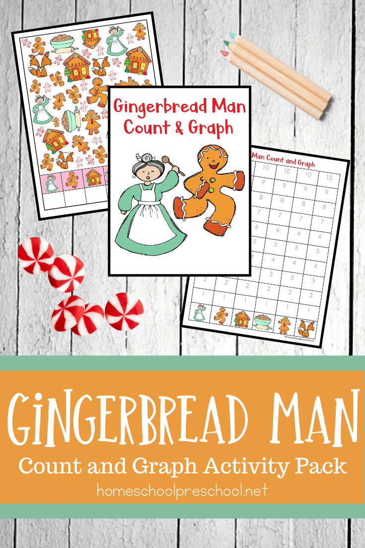 Gingerbread Man Count And Graph Classroom Christmas Activities Preschool Christmas Activities Holiday Math [ 1102 x 735 Pixel ]