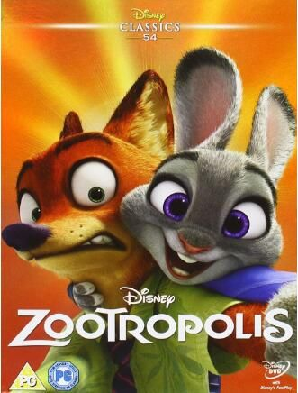 Zootropolis Uk Region Dvd Wholesale Zootopia Zootopia Movie Classic Disney