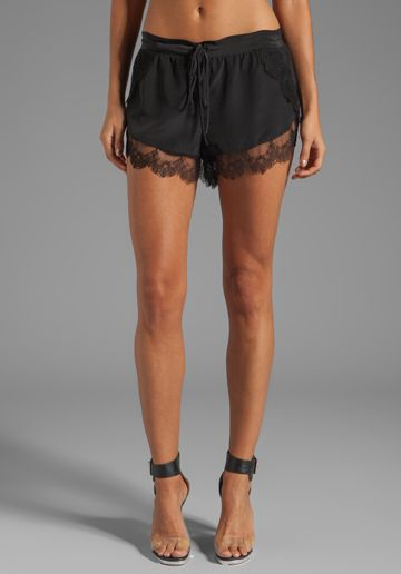 Black lace shorts hot pants lace trim suspenders MadameFantasy. 5 out of 5 stars () $ Favorite Add to See similar items Black Biker Shorts Black Tap Pants Black Lace Shorts Lace Trimmed Shorts Black Half Slip Anti Chafing Shorts Black fashionmeme. 5 .
