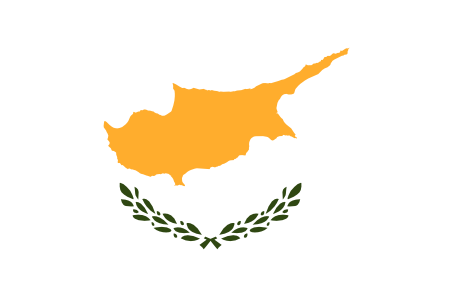 Free Cyprus flag graphics, vectors, and printable PDF files. Get the free downloads at http://flaglane.com/download/cypriot-flag/