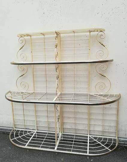 etag re de boulangerie en fer forg ancienne style industriel pinterest le vieux fer. Black Bedroom Furniture Sets. Home Design Ideas