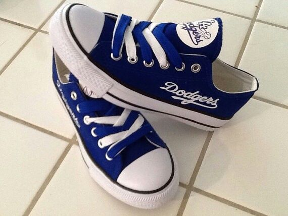 Dodgers Chuck Taylors Shared by Where YoUth Rise. Dodgers Chuck Taylors eb199cdc2