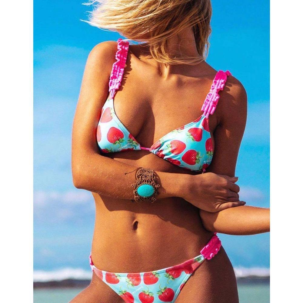 b02829f065 Strawberry Bikini – Tomscloth. Strawberry Bikini – Tomscloth Swimsuit For  Body Type