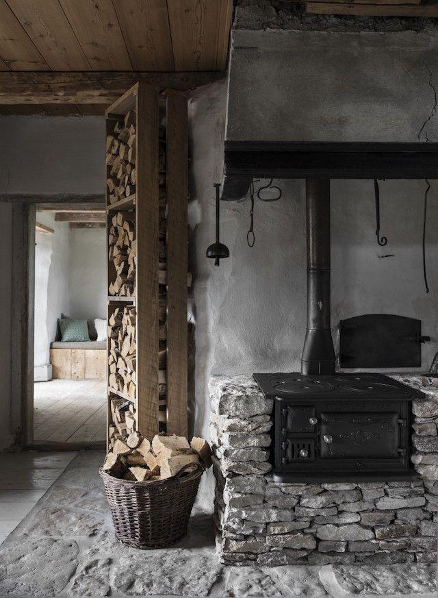 Raw charm on Gotland island   Bauernhaus, Wohnideen und Ofen