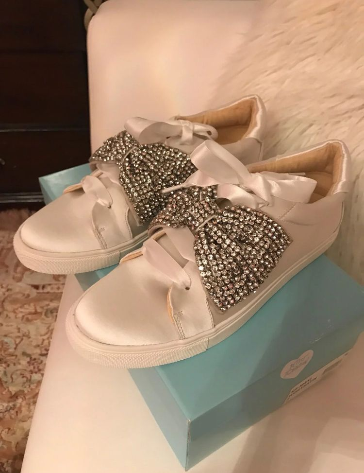 Betsey Johnson Wedding sneakers for