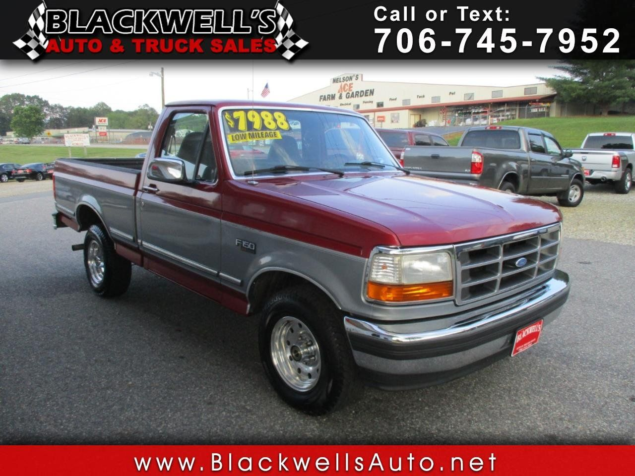 Used 1995 Ford F150 2wd Regular Cab For Sale In Blairsville Ga 30512 Truck Details 516572910 Autotrader Ford F150 Autotrader 1995 Ford F150