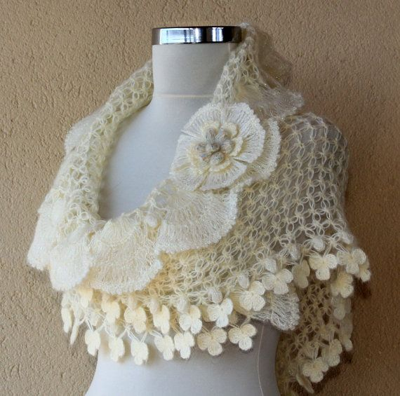 Crochet shawl--I SOOO love this! Not a pattern.  For Sale on Etsy.