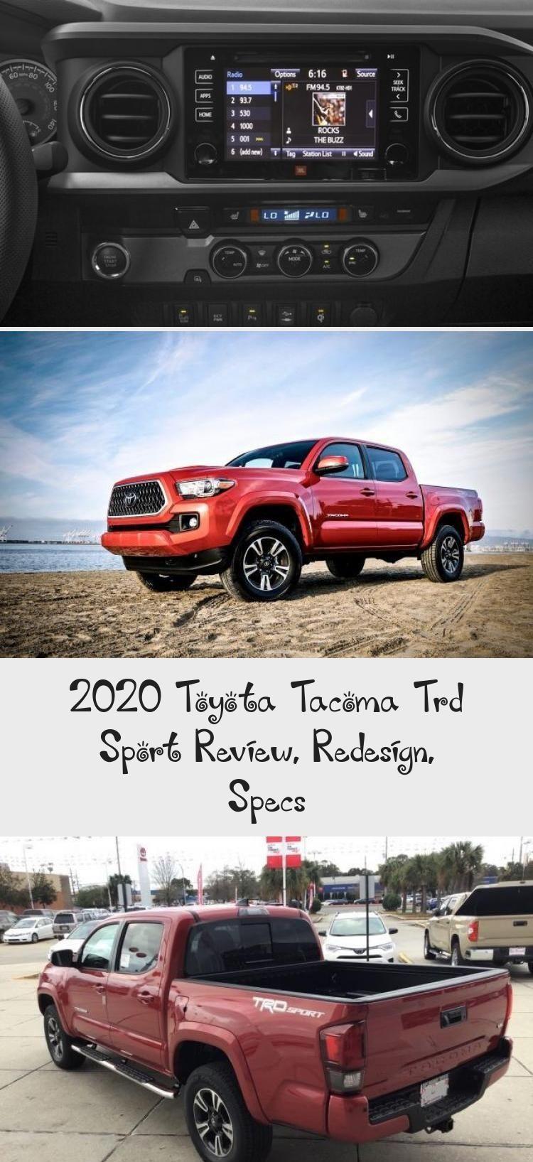 De aanstaande 2020 Toyota TRD Sport is opnieuw een