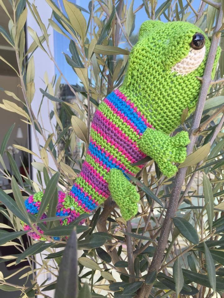 Kameleon Kristel Krukkert Patroon Eigen Werk Haken Pinterest