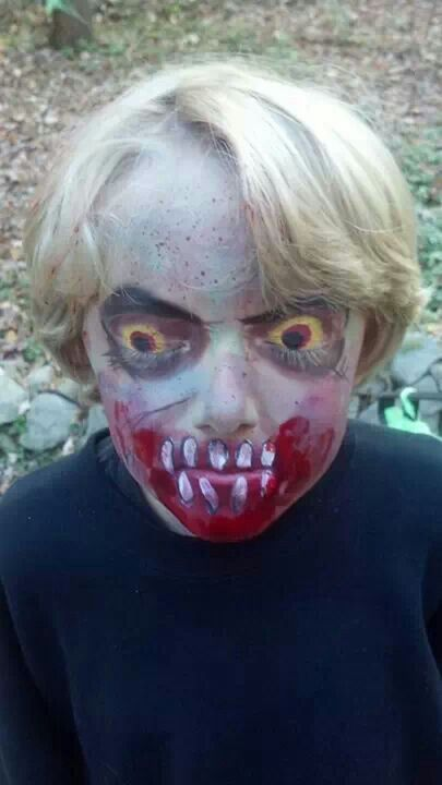 Zombie...the eyes!