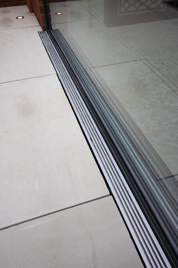 Flush Threshold Drainage System Creating A Flush Floor Finish