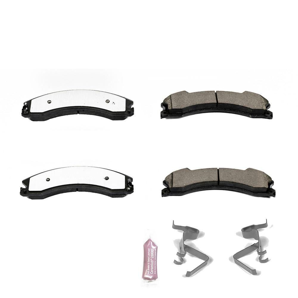 Front Brake Severe Duty Brake Pads Ceramic For Chevrolet GMC Trucks