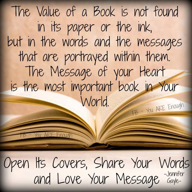 Every book should be about you..don't you think?