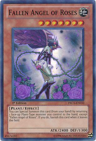 Fallen Angel Of Roses Holo Yugioh Card Yu Gi Oh Cards Pinterest