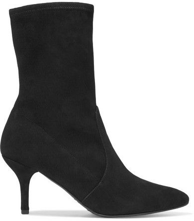 Sock Shop Look Stuart The Cling Suede Black Boots Weitzman 6xAnPFqHwf