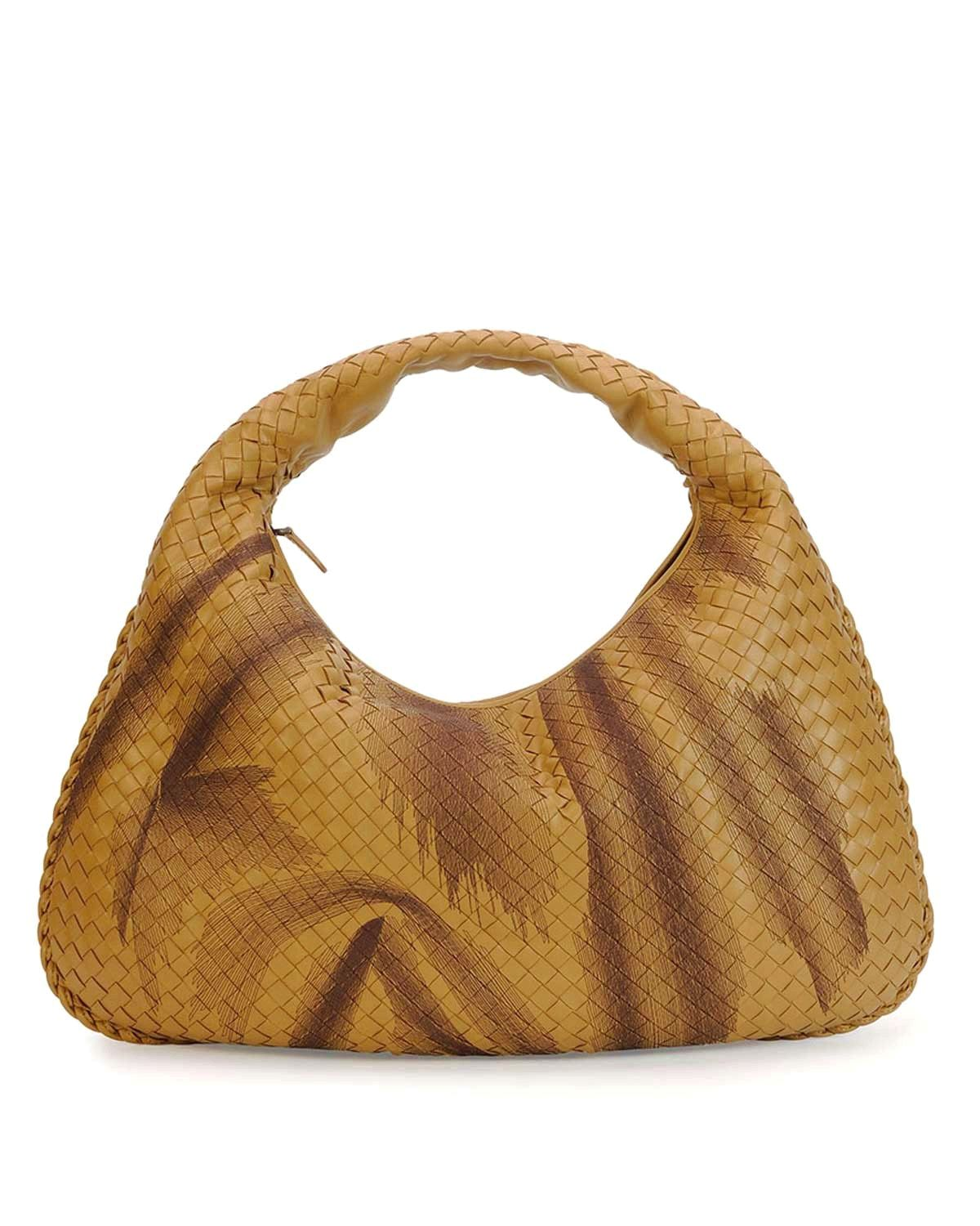 6ce0a988ec Bottega Veneta Intrecciato Large Shadow Hobo Bag Camel  Handbags ...