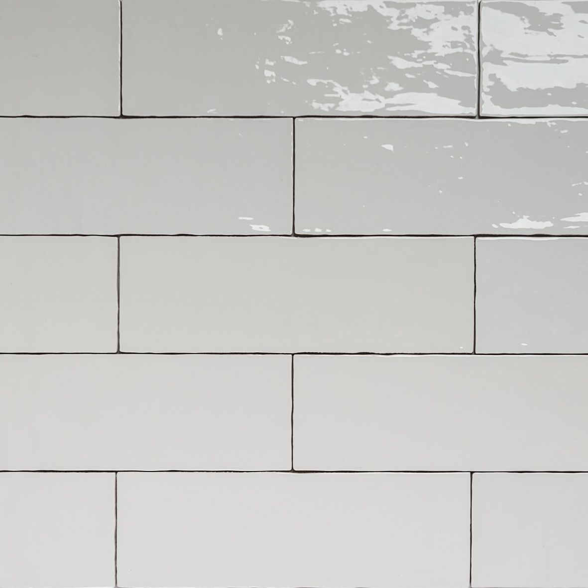 Handmade white gloss natura wall subway tiles 396130 in stretcher handmade white gloss natura wall subway tiles 396130 in stretcher bond design dailygadgetfo Gallery