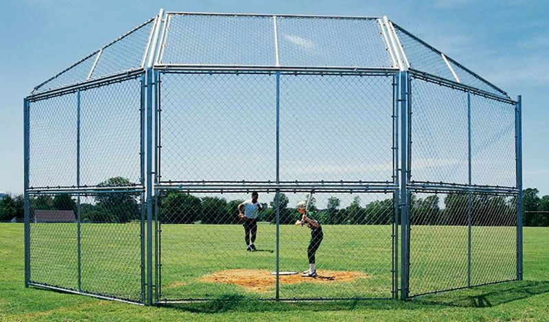 Chain Link Sports Fence | Chain Link Fence | Pinterest | Fences and ...